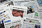 image of a bunch of newspapers